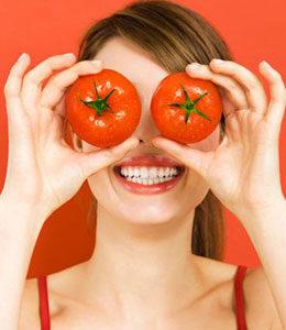 Очищающие маски с томатом-4