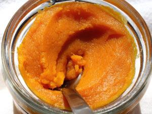 Оранжевая творожная маска 2