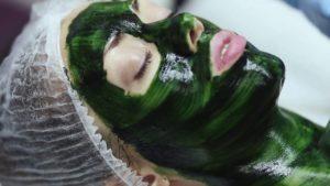омолаживающая маска со спирулиной